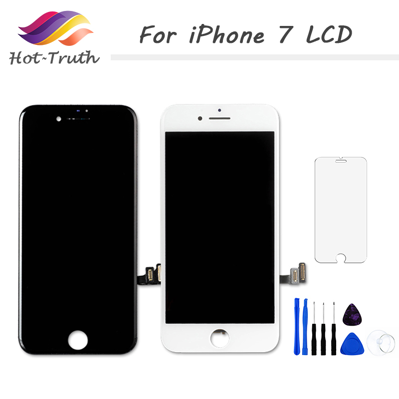Grade AAA No Dead Pixel LCD For iPhone 7 A1660 <font><b>A1778</b></font> A1779 Display Digitizer Assembly with 3D Touch + Screen Protectors+ Tools image