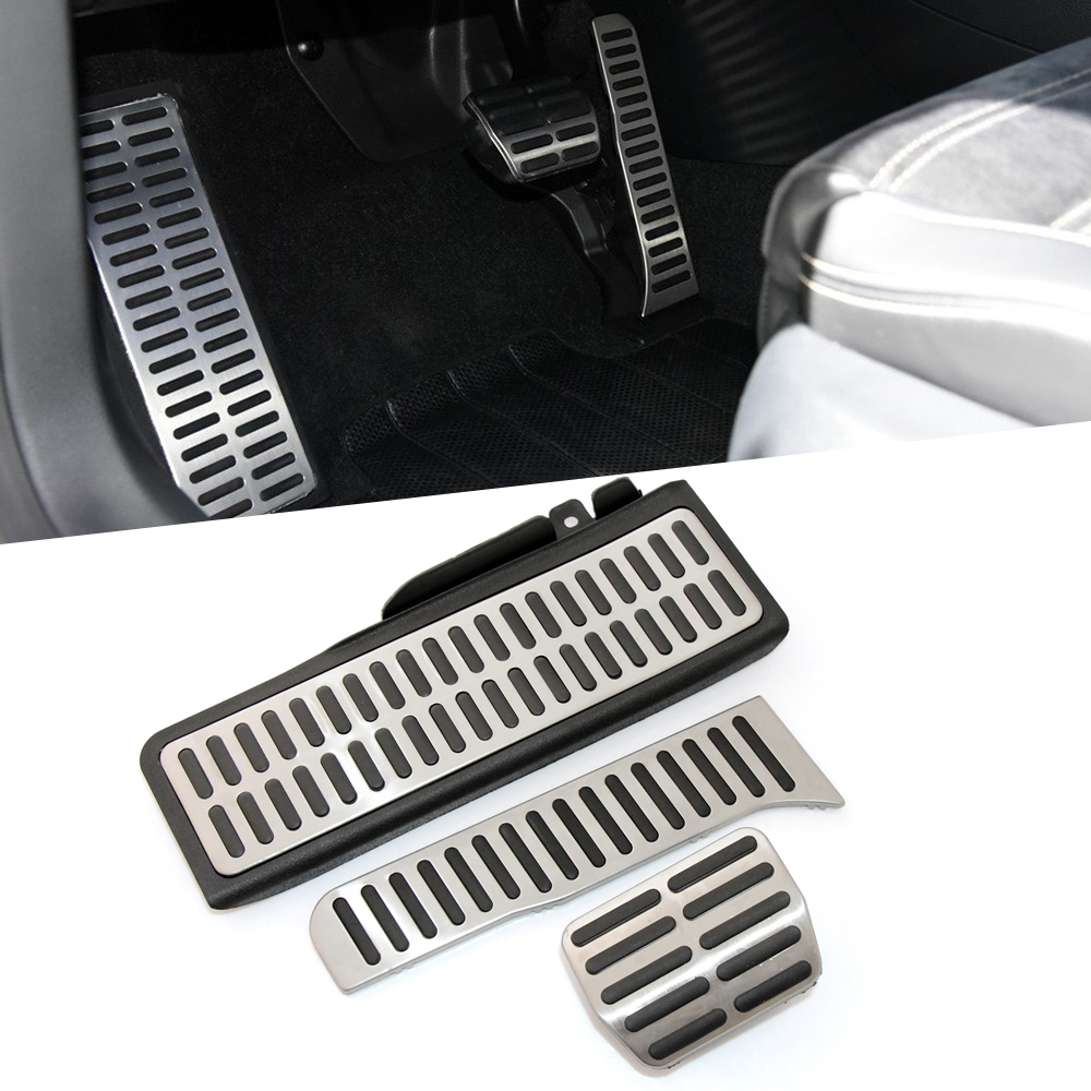 Stainless Steel Manual Transmission Mt Pedal Footrest
