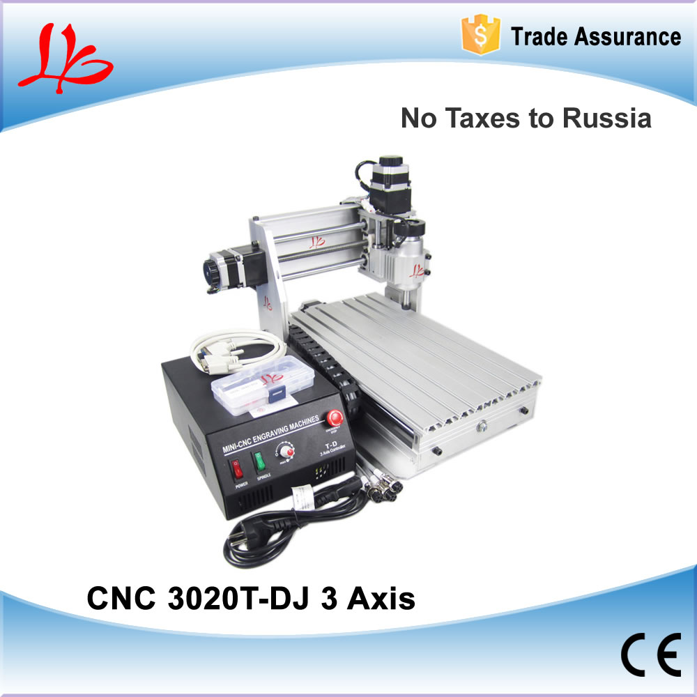 Free Taxes to Russia & Ukraine, Wood cnc router 3020 T-DJ desktop cnc engraving machine, upgrade from 3020T cnc router wood milling machine cnc 3040z vfd800w 3axis usb for wood working with ball screw