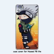 Naruto vs Sasuke Design Transparent Case Cover for Huawei