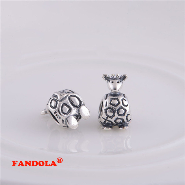 a20be0c16 Giraffe Charm Authentic 925 Sterling Silver Screw Core Stopper Beads Fit Pandora  Charms Bracelets LW062