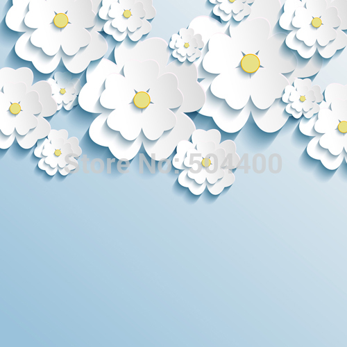 Art Fabric Korea Style Flower Backdrop Photography