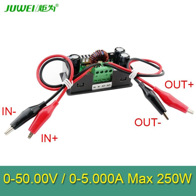 50 V 5A 250W LCD muundur Reguleeritava pinge arvesti regulaator - Mõõtevahendid - Foto 5