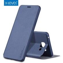 X уровня люкс Высокое качество Флип кожаный чехол для Samsung Galaxy A7 A5 A3 2016 (6) J1 J2 J3 J5 J7 2015 2016 S6 S7 край крышки