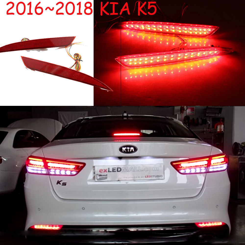 KlA K5 rear lamp;2016~2018,LED,free ship!Sportage,soul,spectora,k5 taillight,K2 K3 K4,K7,sorento,kx5,ceed;K5 fog lamp kalaisike leather universal car seat covers for kia all models ceed rio sportage sorento optima cerato k2 k3 k4 k5 car styling
