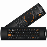 Fly Air Mouse Wireless Keyboard Remote Control MeLE F10 PRO Deluxe 2 4GHz Gyro IR Learning