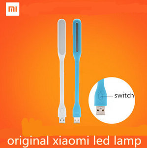 With Switch Original Xiaomi Mijia USB Light Xiaomi LED Light with USB for Power bank/comupter Portable Shining Led Lamp(China)