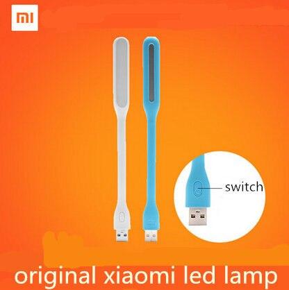 С коммутатором оригинальный Xiaomi mijia USB свет Xiaomi свет с USB для Мощность банк/Comupter Портативный сияющий Led Лампа