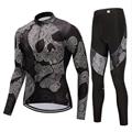 Новый мужской костюм для велосипеда FUALRNY  костюм из Джерси с длинным рукавом для горного велосипеда  Ropa Maillot Ciclismo  Быстросохнущий