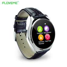 FLOVEME K7 Smart Watch Bluetooth font b SmartWatch b font SIM Card Wristwatch Fitness Tracker Clock