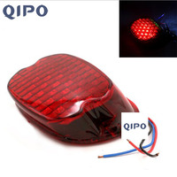 QIPO motorcycle taillights Suitable for Harley LED retro style taillights, brake lights, license plate lights