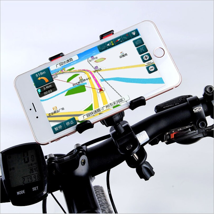 Nueva Inteligente Universal para Bicicleta De Montaje Para iPhone Moto Motocicle