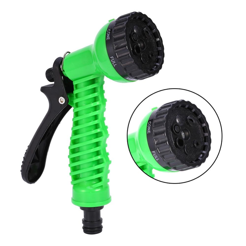 Ajustable hose nozzles pattern garden water gun watering