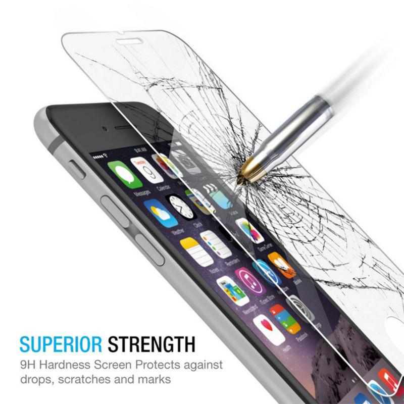 2 дана / лот 0,26 мм 9H Айфон 7 6 6S Plus 5 5S SE - Мобильді телефондарға арналған аксессуарлар мен бөлшектер - фото 3