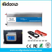SOLAR Power INVERTER 4000W (8000 W Peaking) 12VDC 24 V 48 V to 110-120VAC 220VAC 230 V 240 V เอาต์พุต PURE SINE WAVE(China)