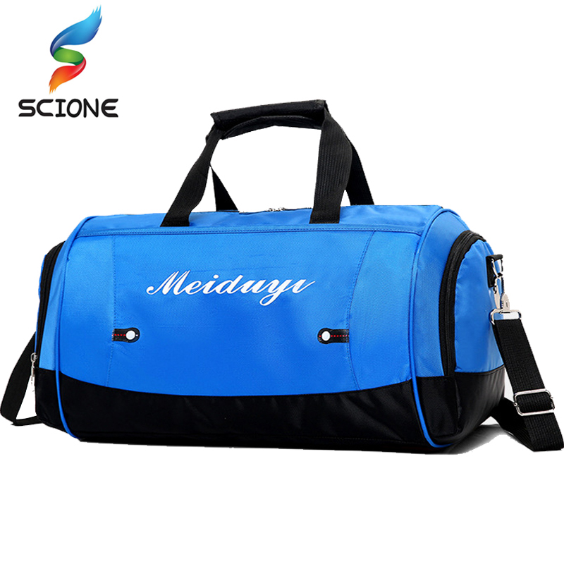 Hot Waterproof Shoulder Sports Gym Bag For Women Fitness Yoga Travel Handbag Outdoor Men's Training Gymnastic Crossbody Bag