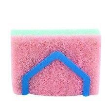 11 11 High Quality kitchen wall accessories dish rack Suction Sponge Holder bathroom holder Clip Rag