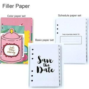 Image 5 - Fromthenon 귀여운 꽃 나선형 노트북 및 저널 한국어 a5 플래너 2020 캘린더 일일 주 월 플래너 소녀 편지지