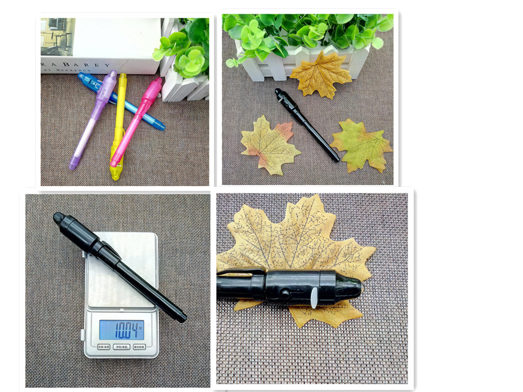 2019 Famous Cute Funny Highlighter Marker Pen UV Light Invisible Ink Pen Kids Student School Gift Novelty Stationery