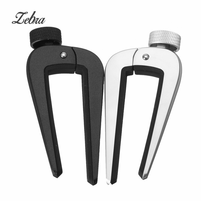 Zebra Adjustable Acoustic Bass Guitar Clip Capo Portable Electric Guitarra Ukulele Quick Change Guitar Capo For Musical Parts zebra cool skull electric guitar belt polyester acoustic folk guitar classic guitar strap for electric acoustic guitar bass