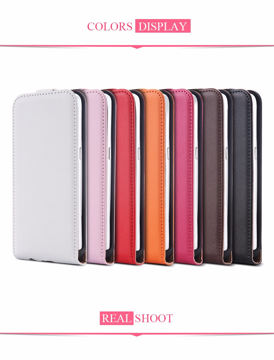 Hot Retro Genuine Leather Case for iPhone 5S I5 4S 4 Luxury Vertical Magnetic Flip Phone Accessories Real Full Cover For Iphone5 1 (7)
