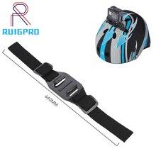 Adjustable Helmet Strap for GoPro Hero 7 5 6 4 Session SJCAM SJ4000 SJ 5000 Xiaomi Yi 4K h9 Go Pro Mount Cycling Accessory