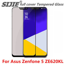 full cover Tempered Glass For Asus Zenfone 5 ZE620KL Suitable Screen protective toughened fit on edges case friendly сотовый телефон asus zenfone 5 ze620kl 4 64gb midnight blue