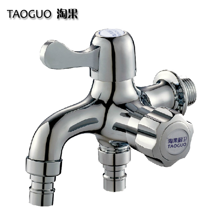 Nao Guo copper copper core multi purpose dual use washing machine faucet into the two out