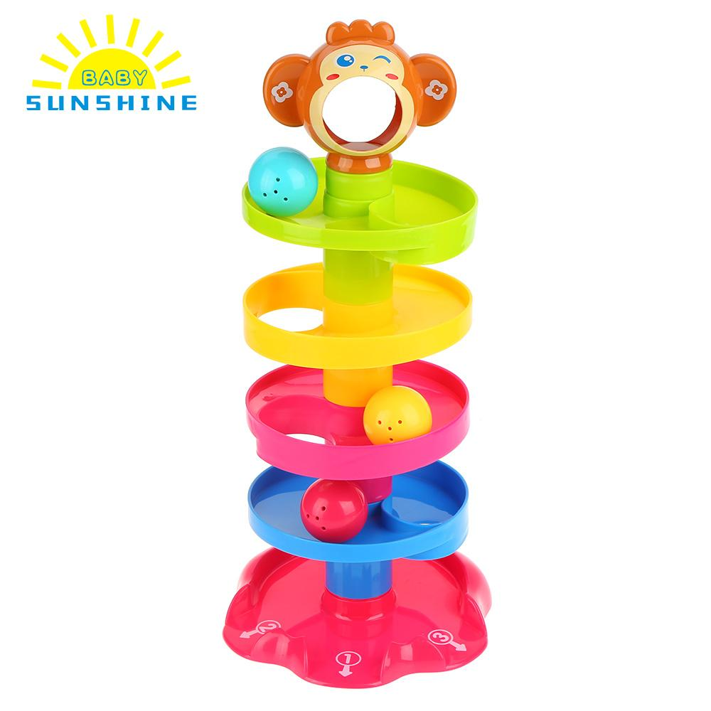 Aliexpress Buy Ru Stock Baby Toys Tower Puzzle