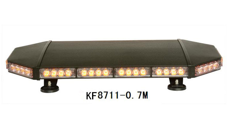 NEW High Power for Police vehicle flash traffic warning lightbar Emergency Warning Lightbar Police Lightbar KF8711-0.7M
