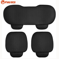 Universal PU Leather Car Truck Seat Covers Cushion For Front Back Seat Chair 4 Colors