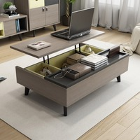 Nordic wind minimalist function coffee table Rectangle for Living Room furniture
