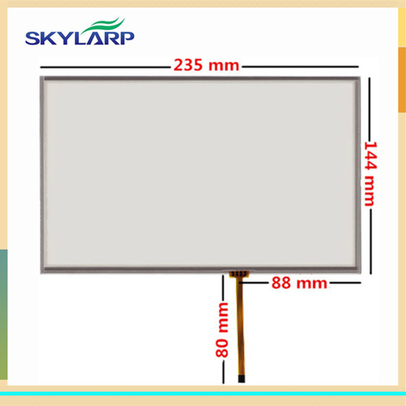 skylarpu 10.2 inch 4 wire Resistive Touch Screen for 235mm*144mm Industrial equipment Digitizer panel