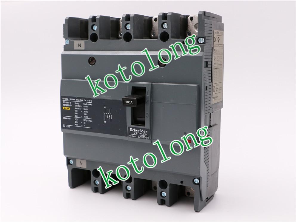 EZC250H 4P MCCB EZC250H4100 4P-100A  EZC250H4125 4P-125A EZC250H4150 4P-150A EZC250H4160 4P-160A