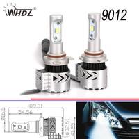 8G 72w 9012 LED Headlight Conversion Kit With 360Degree High Beam Low Beam CRE XHP50 6500K LED Bulb Kit
