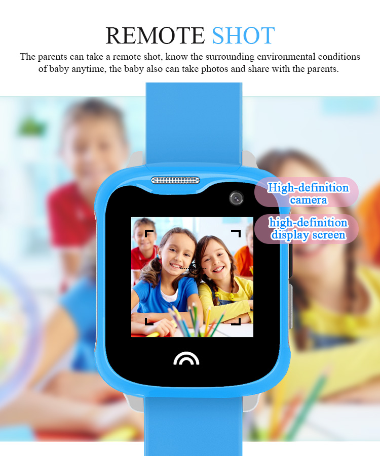 IP67 Waterproof Smart Kids Child Watch Baby Safe Smartwatch GPS WIFI LBS SOS Location Tracker Remote Camera Monitor Smart Watch 6