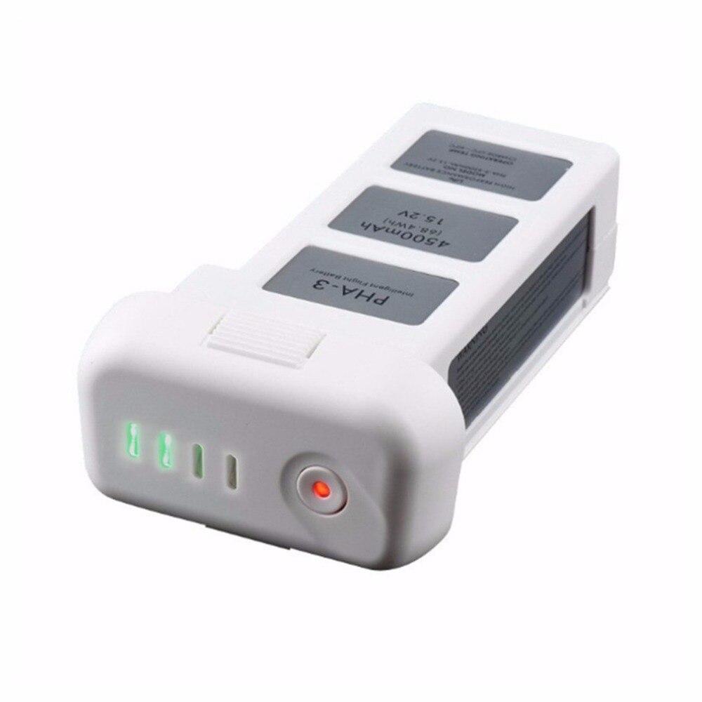Для DJI Phantom 3 15,2 В 4500 мАч LiPo Батарея высокое Ёмкость Drone Батарея Стандартный профессиональной деятельности