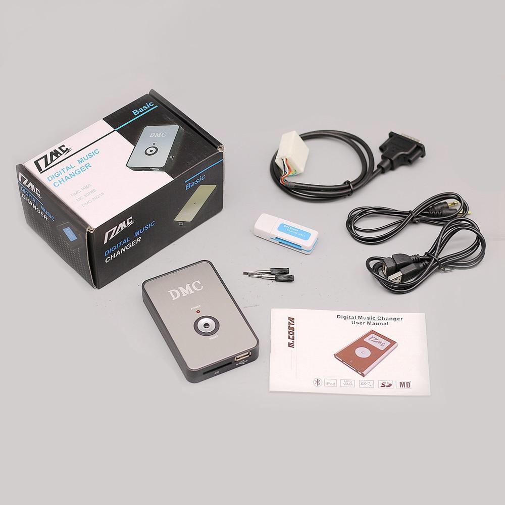 New Digital Music CD MP3 Changer Player case for Honda Goldwing GL1800 2001 2002 2003 2004