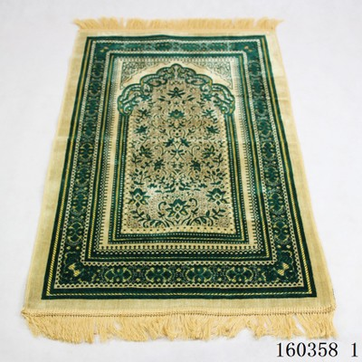 New Wholesale Thicken Islamic Muslim worship Prayer Rug Salat Musallah Prayer blanket Tapis Carpet Tapete Banheiro travel mats
