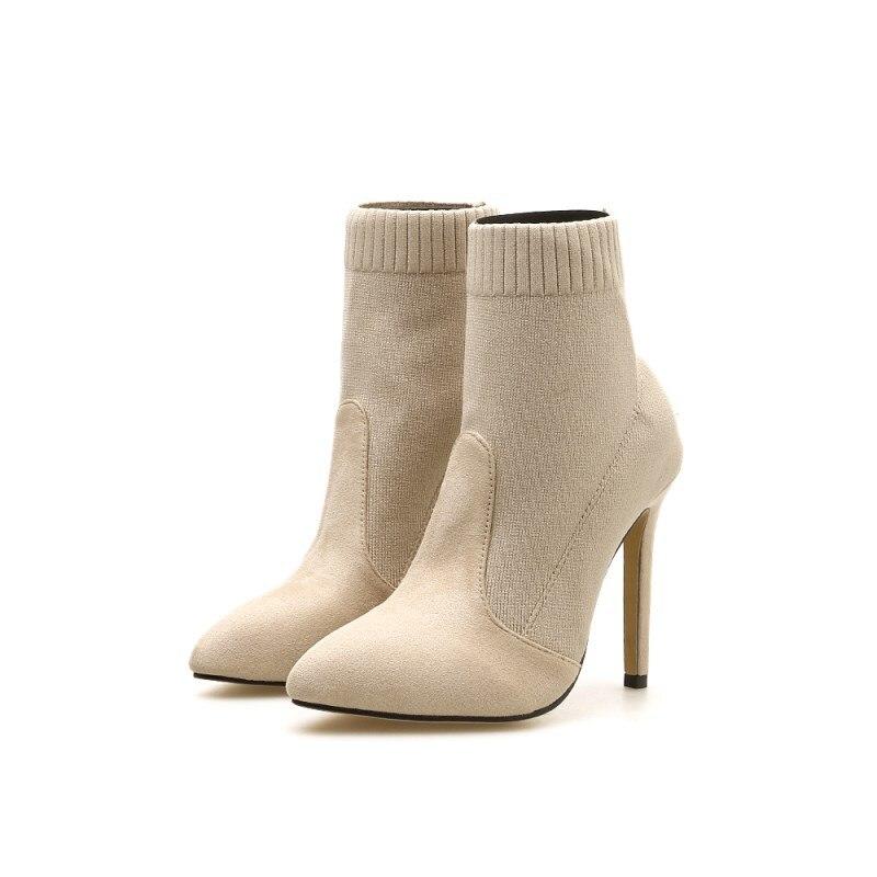 Faible Chute Designer 2 Femmes Fourrure Couleur Correspondant Shose Talons Pompes Haute Chaussures De Multicolore Chunky 1 Femme Hiver Ronde 4zqxwX6x