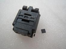 Z klapką 32QN40TS24040 QFN32 4*4mm szerokość rzędów 0 4mm IC spalania siedzenia Adapter testowania miejsce badania gniazdo stanowisku do badań w magazynie tanie tanio Tester kabli JINYUSHI