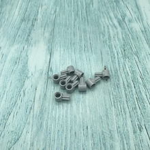 20Pcs/lot TECHNIC PARTS Pin Connector Hub with 1 Axle Building Block Bricks Parts DIY Toys Compatible with 22961 27940 10288 цены