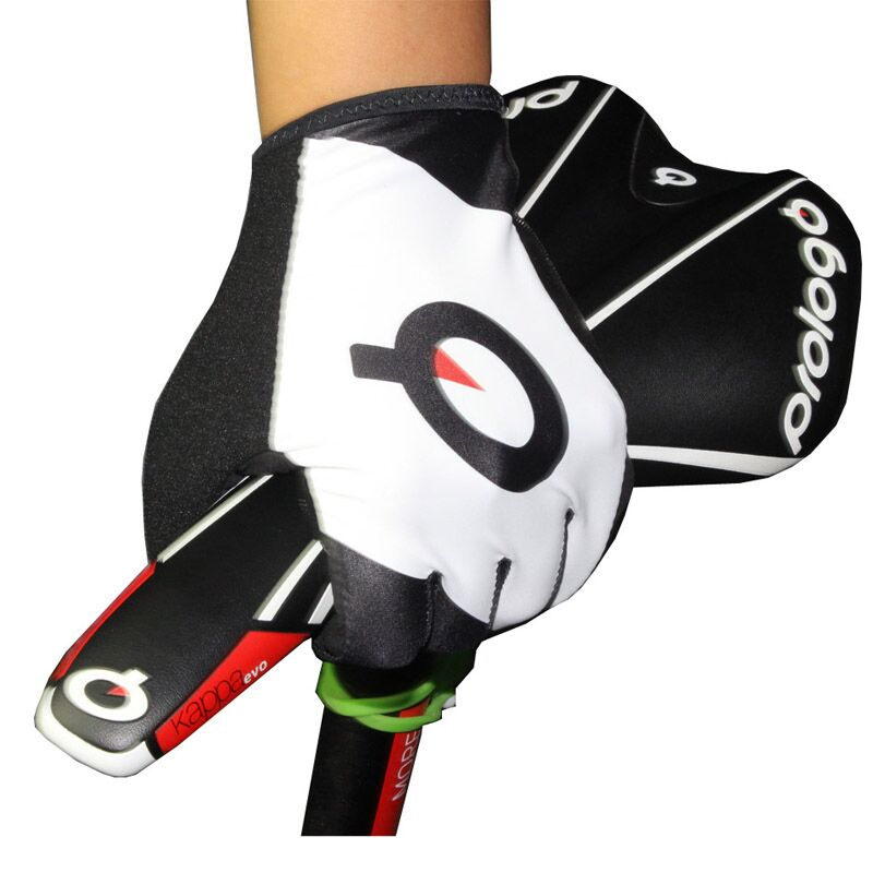 Prologo Summer short finger gloves breathable riding bicycle gloves Ultralight anti skid bicycle riding gloves Free