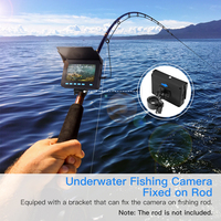 Eyoyo Updated EF05PRO 20M Underwater Camera for fishing fish finder IP68 Infrared LED for Ice Lake Sea Fishing 10000mah Battery