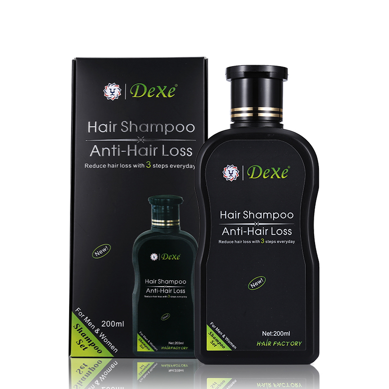 Dexe Hair Set 200 ml Herbal Anti-Hair Loss Hair Shampoo Product Hair Growth Prevent Hair Treatment For Men and Women toppik 27 5g best hair building fibers for hair loss treatment 10pcs lot