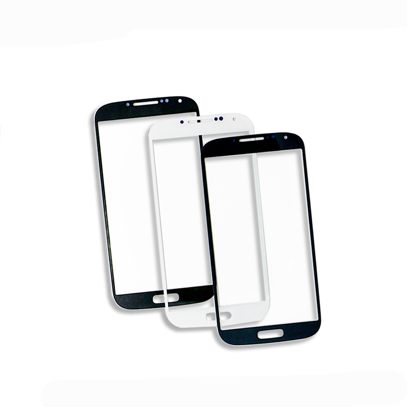 Front Glass For Samsung Galaxy S4 I9500/I9505, S4 MINI I9195/I9190 Outer Glass LCD Touch Screen Panel Digitizer Sensor Part