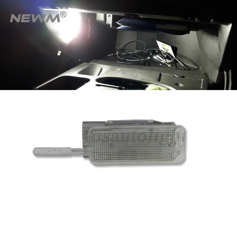 1pc led glove box light lamp for Peugeot 206 for Peugeot 207 for Peugeot 306 for Peugeot 307 auto car interior light white led glove box light for peugeot 206 207 306 406 307 406 407 607 806 308 3008 auto led interior bulb 12v led glove box lamp