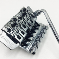 Double Shake Electric Guitar Pull String Plate Bridge Floyd Rose 6 string Tremolo System Chrome Hardware Free Shipping