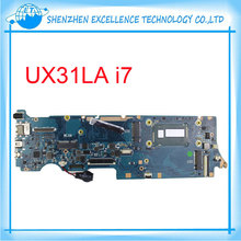 UX31LA for ASUS laptop motherboard Intel i7 cpu REV2.1 90NB02N1-R000F0 Fully Tested