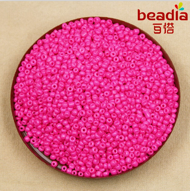 80g/lot 2mm 3mm Blue Green Red Glass Seed Beads Mixed Color Neon Loose Spacer Beads For Diy Jewelry Making Online Discount Jewelry & Accessories Beads & Jewelry Making